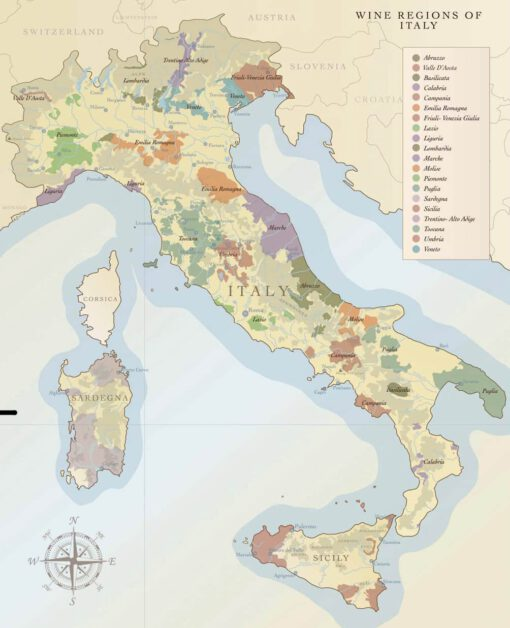 Sommelier Luc Wijnkaart Italië